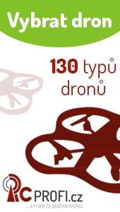 Vyberte si ze 130 typů dronů